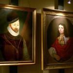 links: Pfalzgraf Johann Casimir; rechts: Prinz von Condé