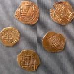 spanische und kaiserliche Goldmünzen aus der Zeit des 30-jährigen Krieges