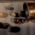 Bleikugeln aus der Zeit des 30-jährigen Krieges