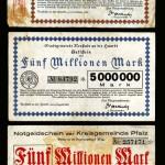 Kommunale Notgeldscheine 1923