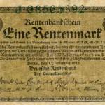 Zur Reform des zerrütteten Geldwesens erfand Karl Helfferich 1923 die Rentenmark und rettete damit die Deutsche Währung