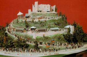 Zug auf das Hambacher Schloss