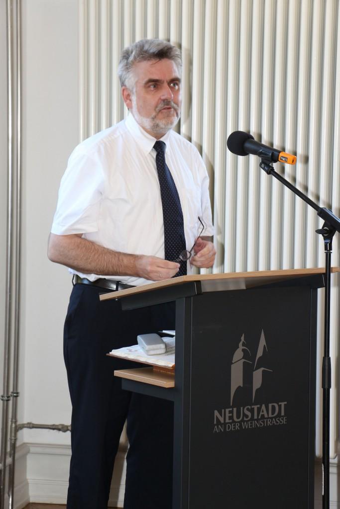 Prof. Dr. Armin Willingmann, Staatssekretär im Ministerium für Wirtschaft, Wissenschaft und Digitalisierung des Landes Sachsen-Anhalt