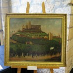 Zug auf das Hambacher Schloss 1832 von Joseph Weber, Stadtmuseum Neustadt