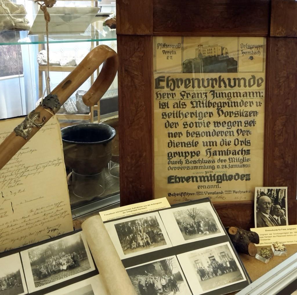 PWV Hambach Ausstellung Stadtmuseum Neustadt